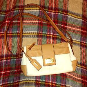 Tignanello small leather shoulder bag, used twice